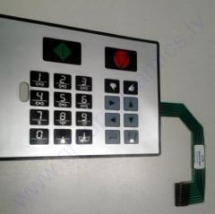 Keyboard MCG FC GRAPHITRONIC ( Stkr )